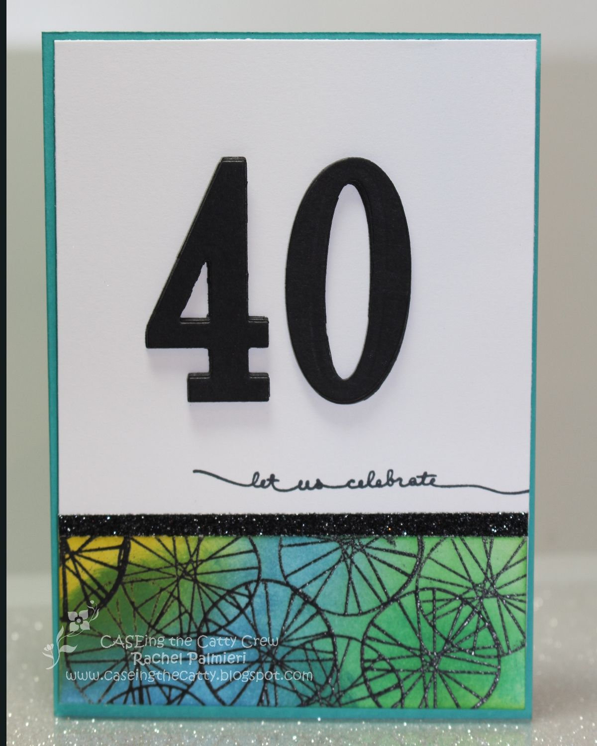 Stampin' Pals Forty JAI Just Add Numbers Handmade