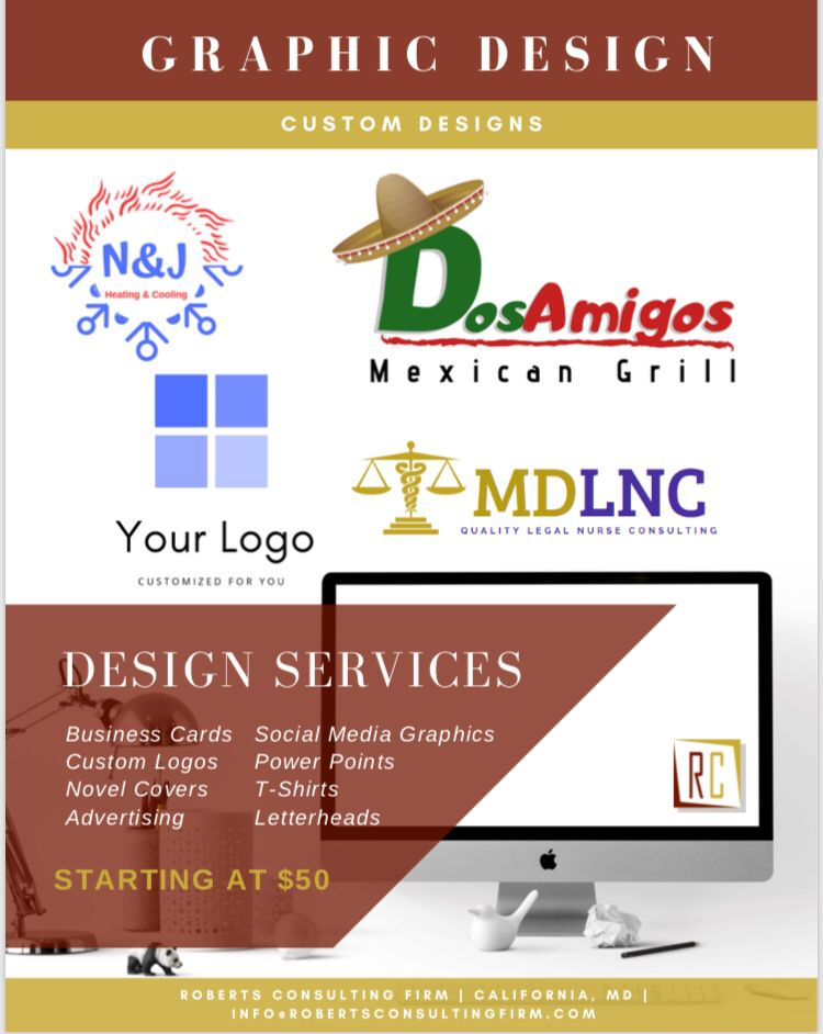 Quality Graphicdesign Services Only At Roberts Consulting Firm