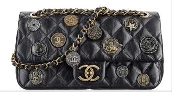 c1c9bf24e11428 Chanel Classic Flap Boy Dubai 14/15 Collection Embellished Medallion  Shoulder Bag. Get one of the hottest styles of the season! The Chanel  Classic Flap Boy ...