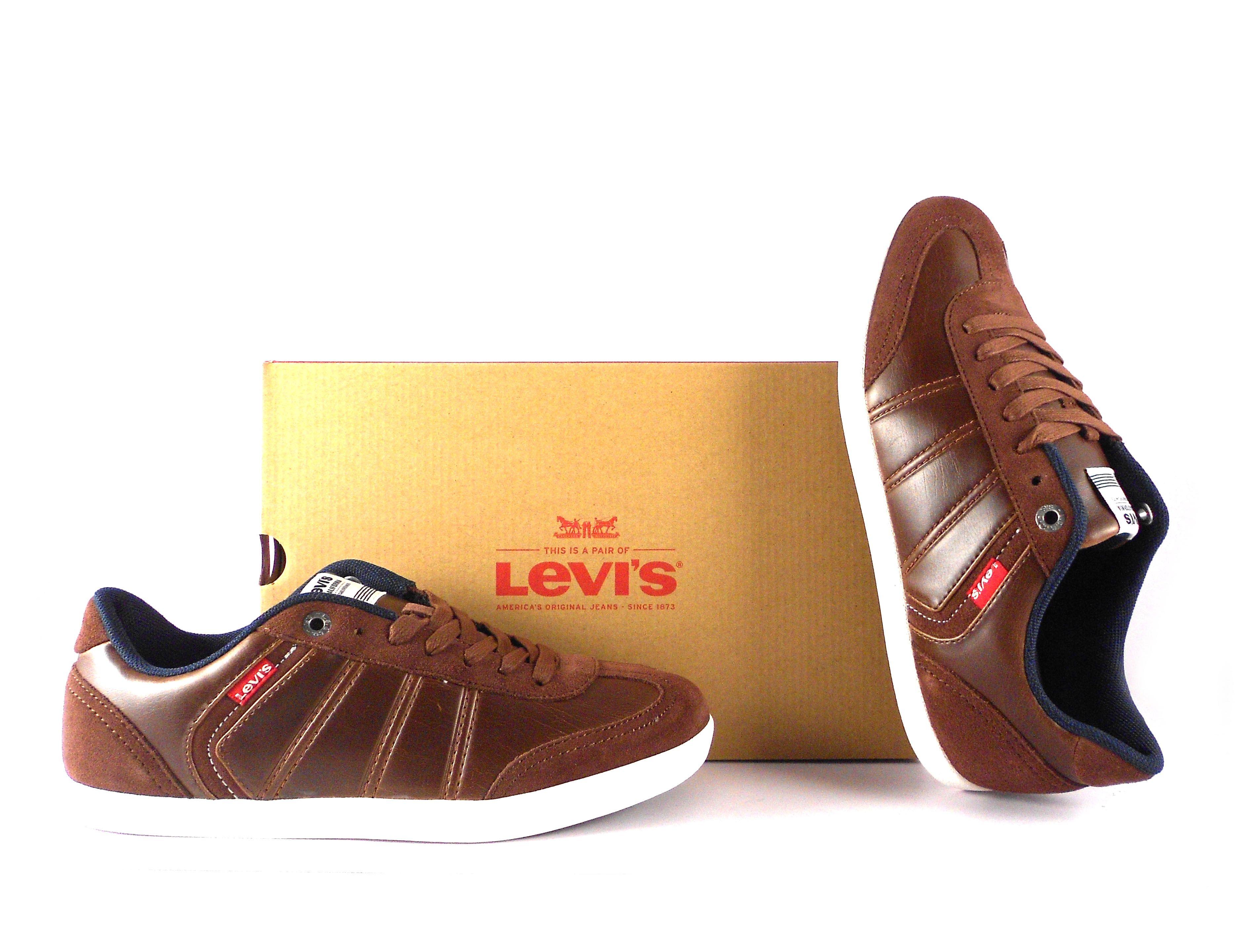 b466d529 Deportivas Levis hombre Loch dark brown | Botas y deportivas Levis ...