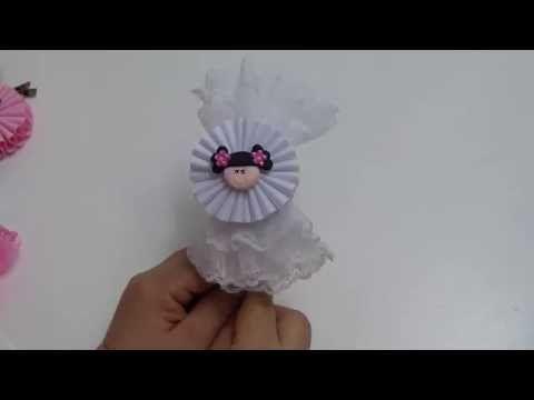 Como Hacer Lazo Mono Abanico Y Flor Acordeon Para Balacas O - Como-hacer-lazos-para-diademas