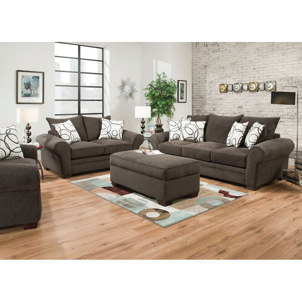 Apollo Living Room - Sofa & Loveseat (548) : Sofas & Loveseats ...