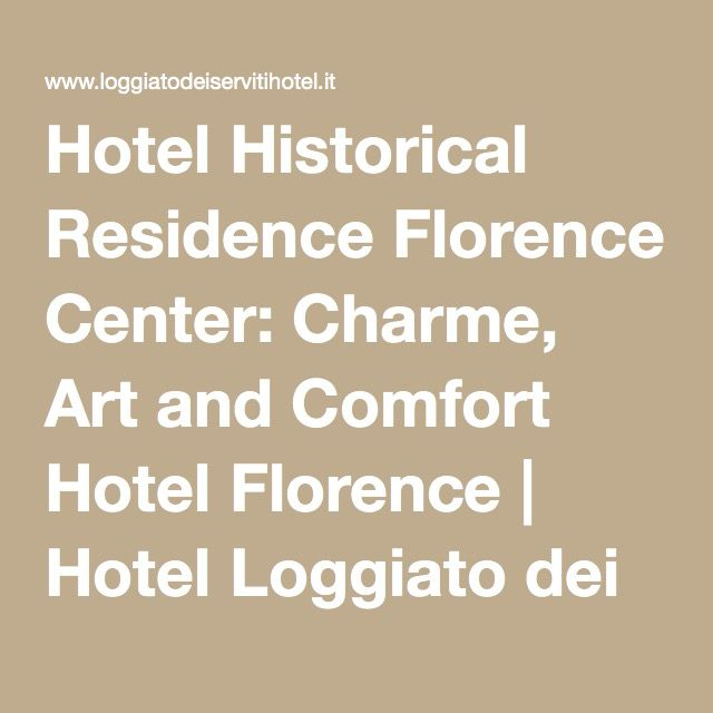 Hotel Historical Residence Florence Center:Florence Hotel by Museum with David -  Rec by Rick Steves