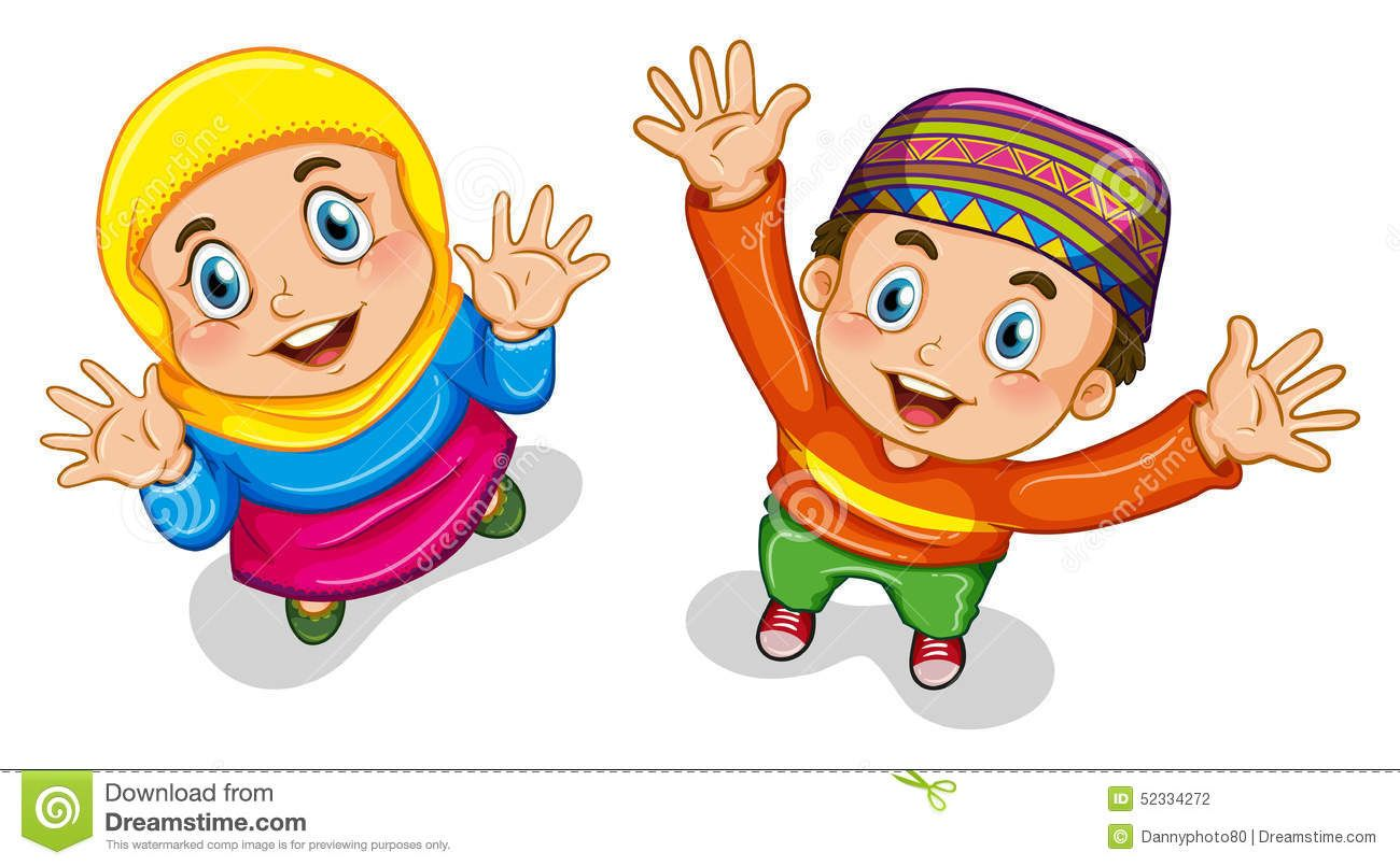 Muslim Kids Cartoon Carian Google Dengan Gambar