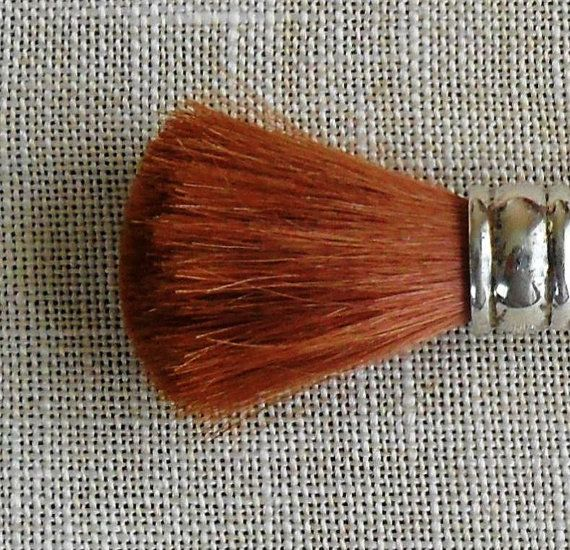 1940's Sterling Silver Rouge/ Blush Brush by by VtgDreamCollectibles