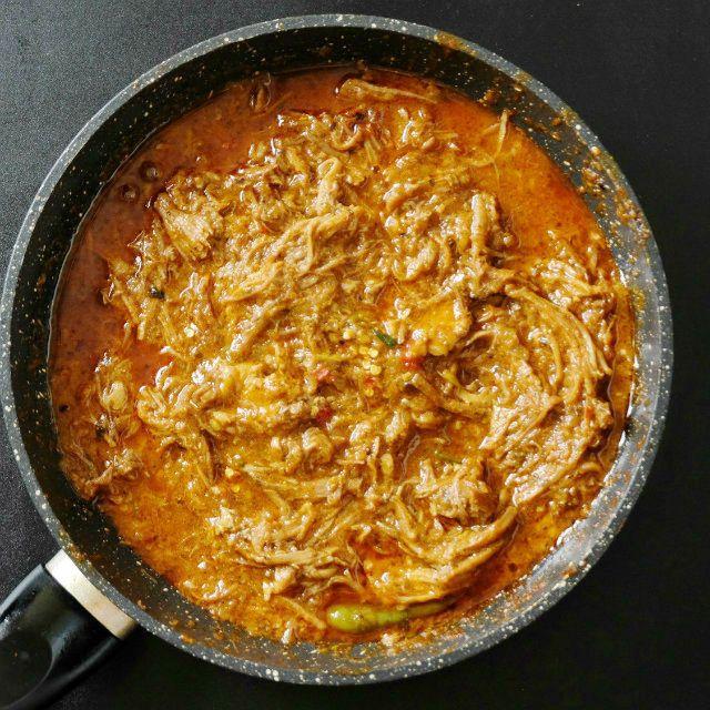 Creamy Spicy Keto Pulled Pork Chili