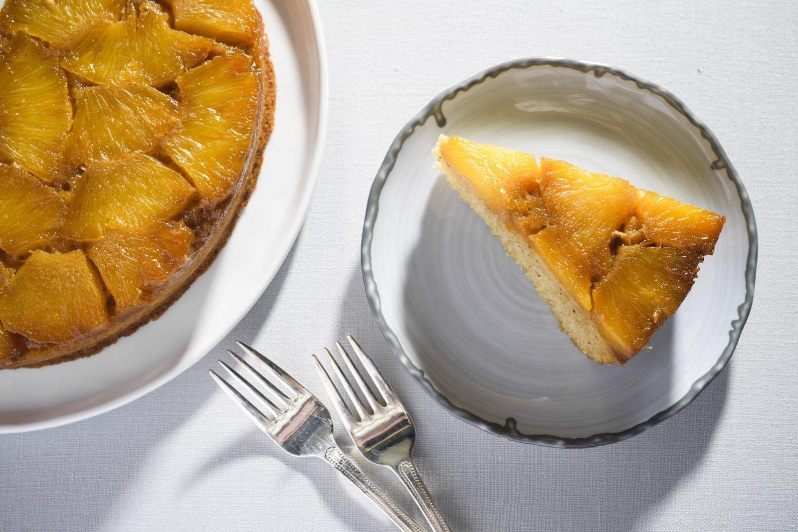 Pineapple UpsideDown Cornmeal Cake Recipe in 2020