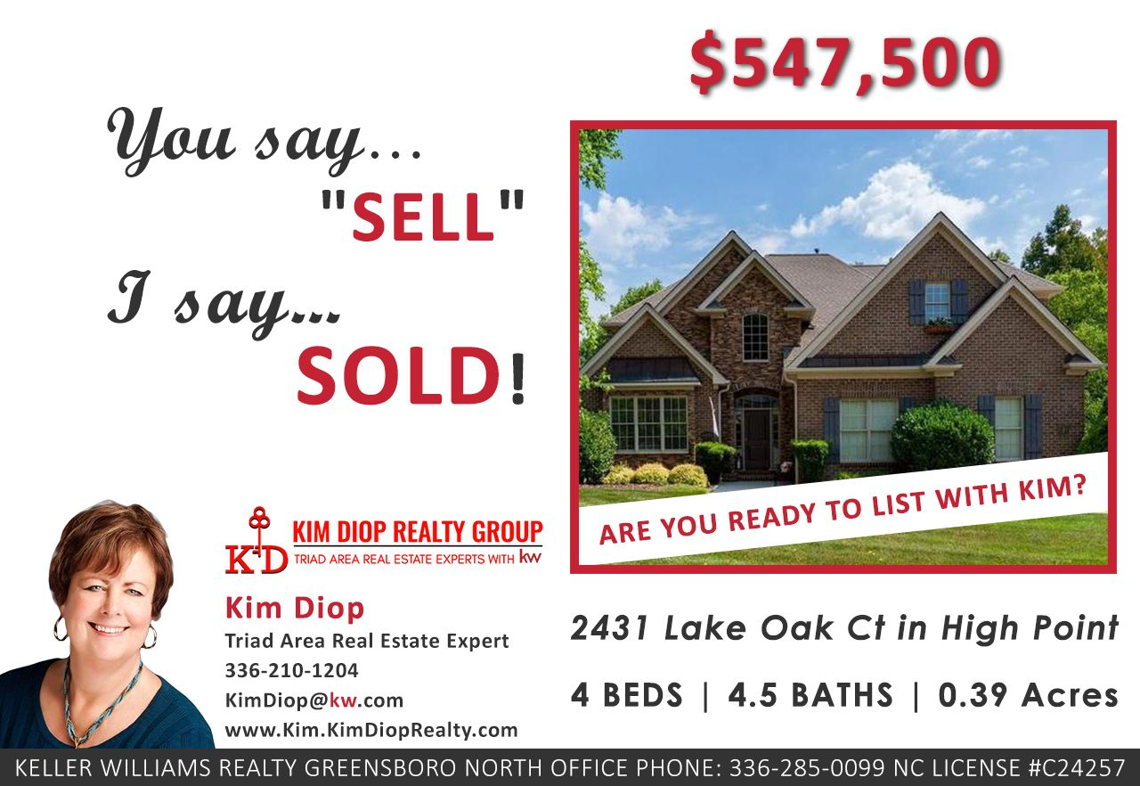 Sold For 547,500 4 Beds 4.5 Baths 0.39 Acres If you