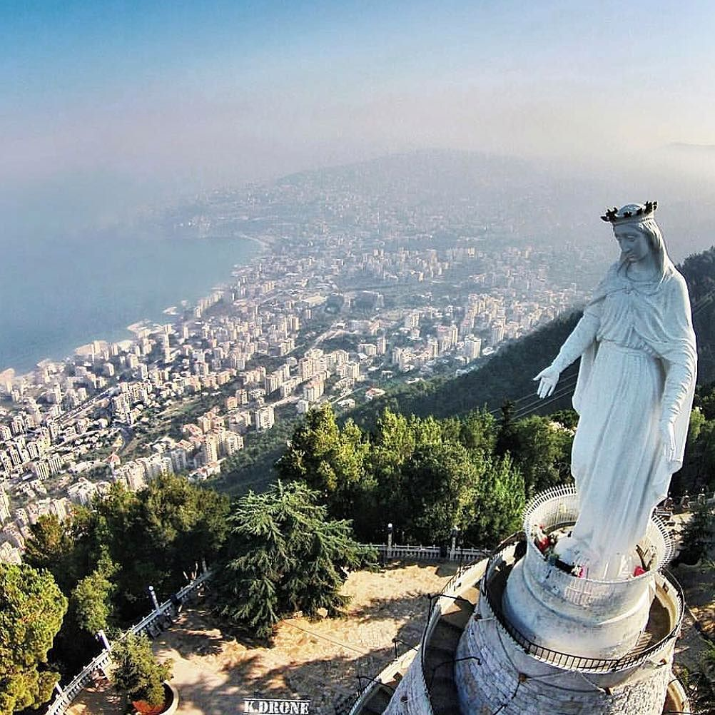 "TWIP on Instagram: ""The Shrine of Our Lady of Lebanon, also known ..."