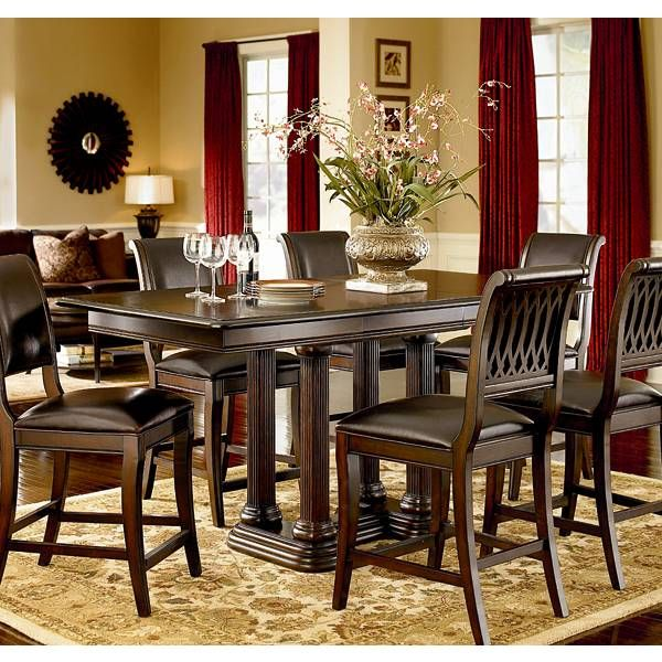 Belmont Counter Height Dining Group Bernhardt Star Furniture