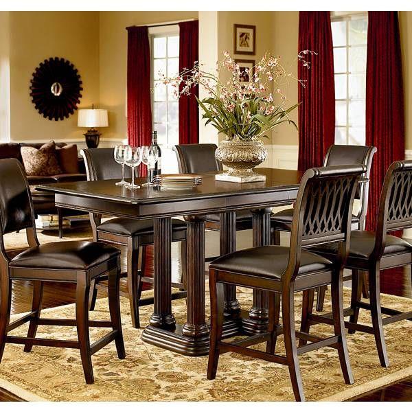 Belmont Counter Height Dining Group  Bernhardt  Star Furniture Pleasing Dining Room Chairs San Antonio Design Decoration
