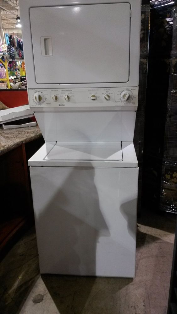 Details about Kenmore Washer / Dryer Combo Apartment Style ...