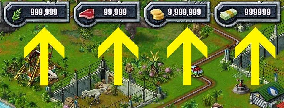Jurassic Park Builder Apk Unlimited Money