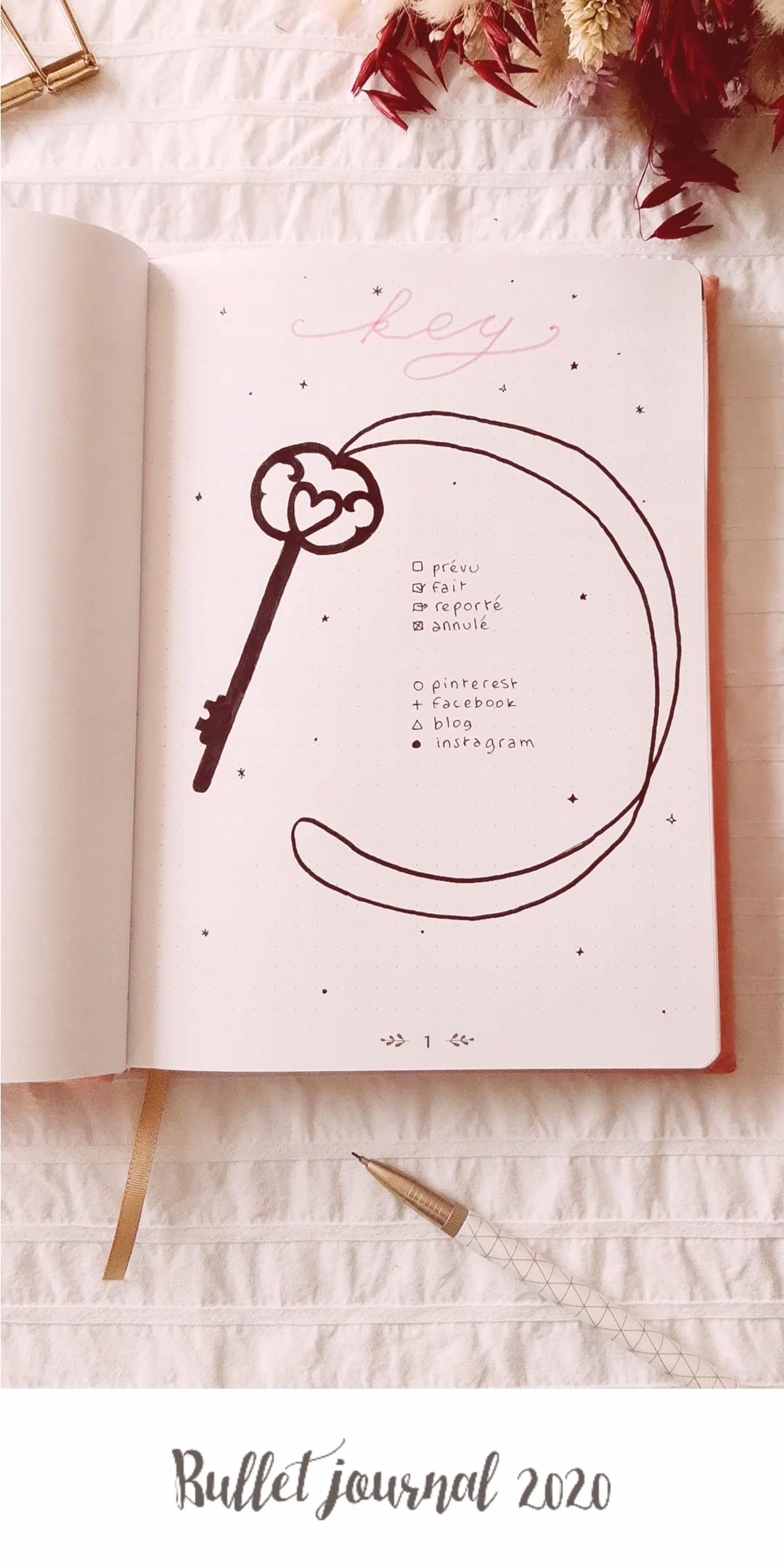 Voici les pages de base que j'ai réalisées dans mon bullet journal pour 2020 : les clés (key), un calendrier 2020, le future log, et les pages collection : musique, films, wishlist et idées DIY !Voici #les #pages #de #base #que #j'ai #réalisées #dans #mon #bullet #journal #pour #2020 #: #les #clés #(key), #un #calendrier #2020, #le #future #log, #et #les #pages #collection #: #musique, #films, #wishlist #et #idées #DIY #! #future