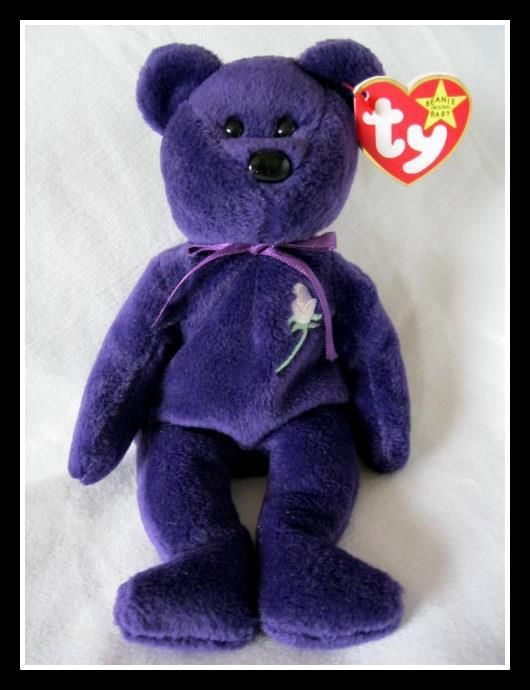 Princess Diana Beanie Baby Super Rare Indonesia Canadian Tags