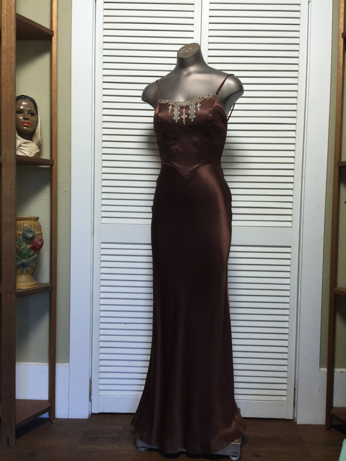 S maxi dress s does the s size small vintage evening gown