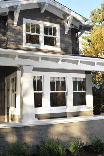 Craftsman House Windows