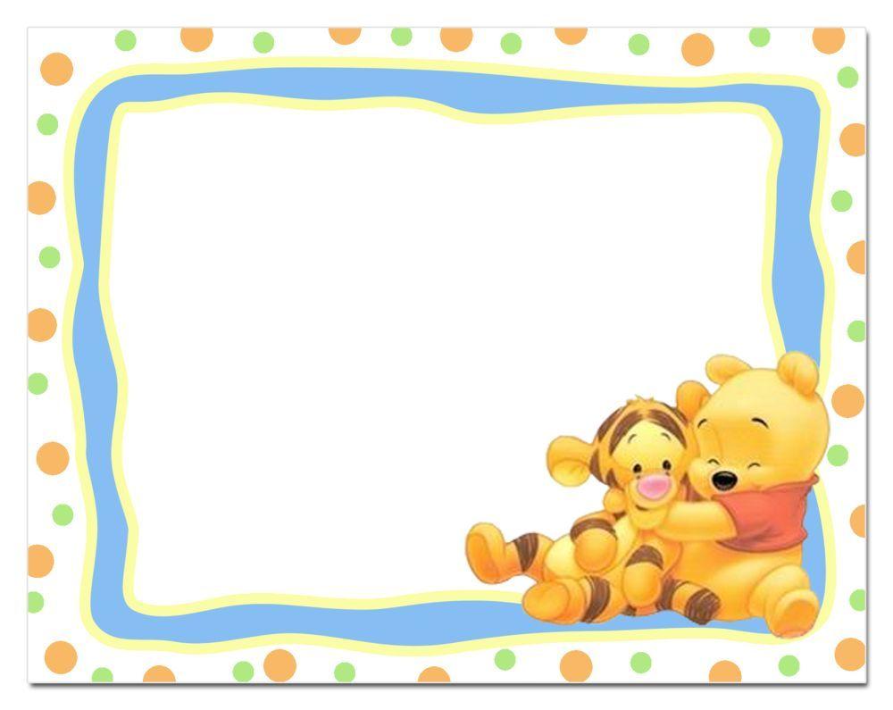 Winnie The Pooh Printable Invitation Template