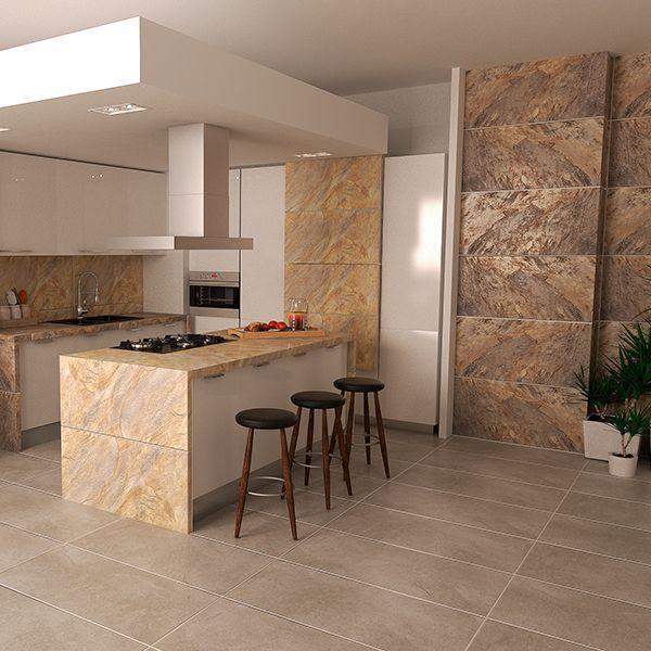 Sarezzo beige cocinas en 2019 decoracion de cocinas for Modelos de casas minimalistas pequenas