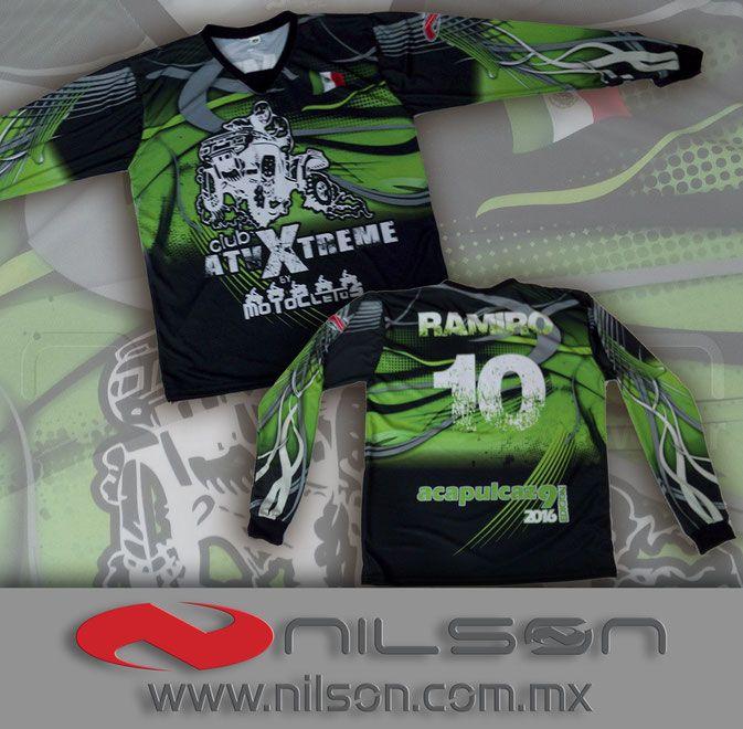 jersey motocross sublimacion fullcolor nilson ropa deportiva ... 2c4ce73661a