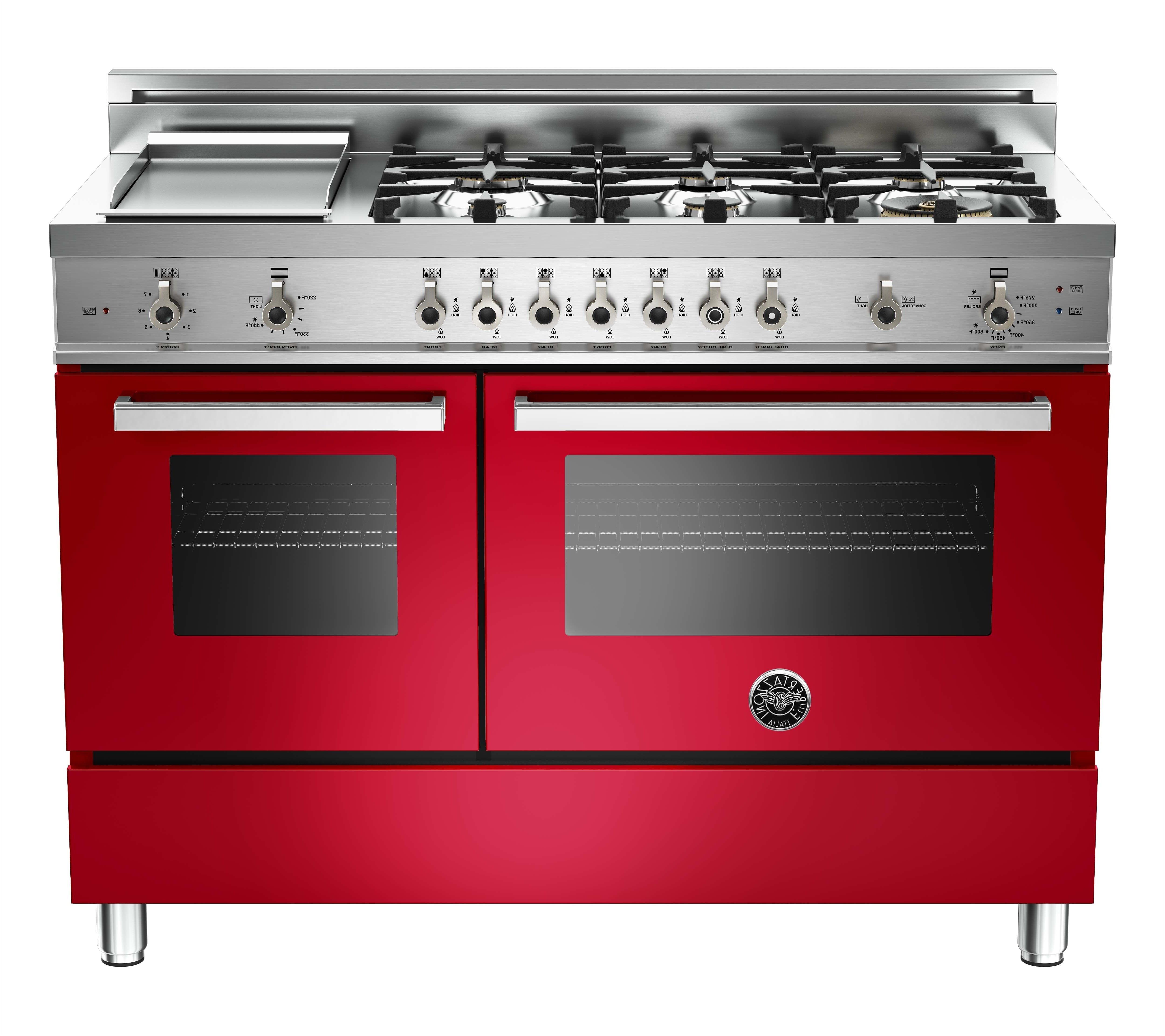 Unique Expensive Kitchen Appliances Brands Burgundy Oven