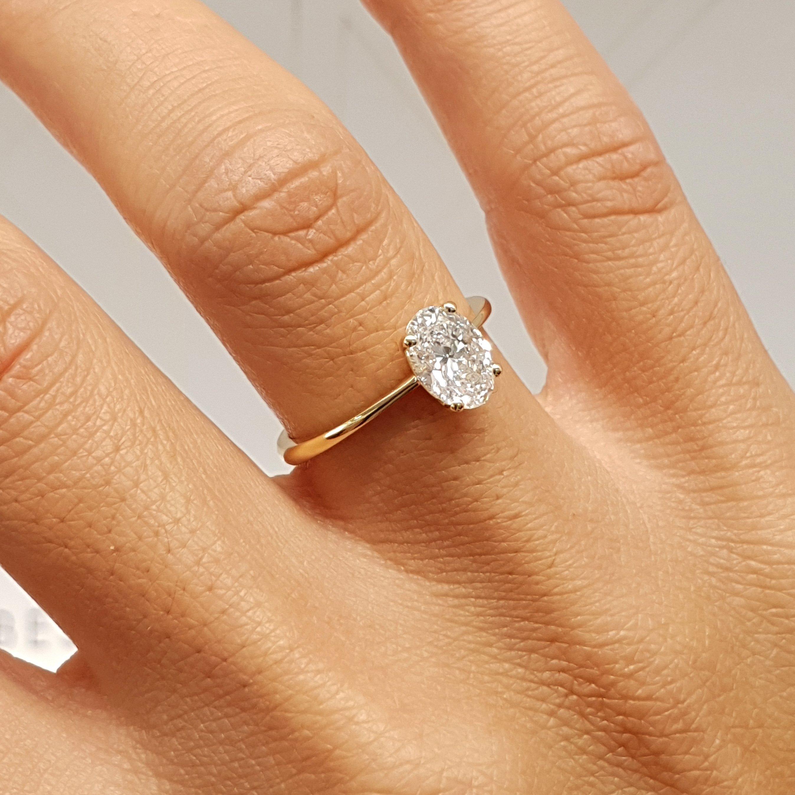 The Julia Engagement Ring 1 Carat Oval E Vs2 14k Yellow Gold Diamond Ring J99190 Yellow Gold Diamond Engagement Ring Oval Diamond Engagement Ring Diamond Wedding Bands