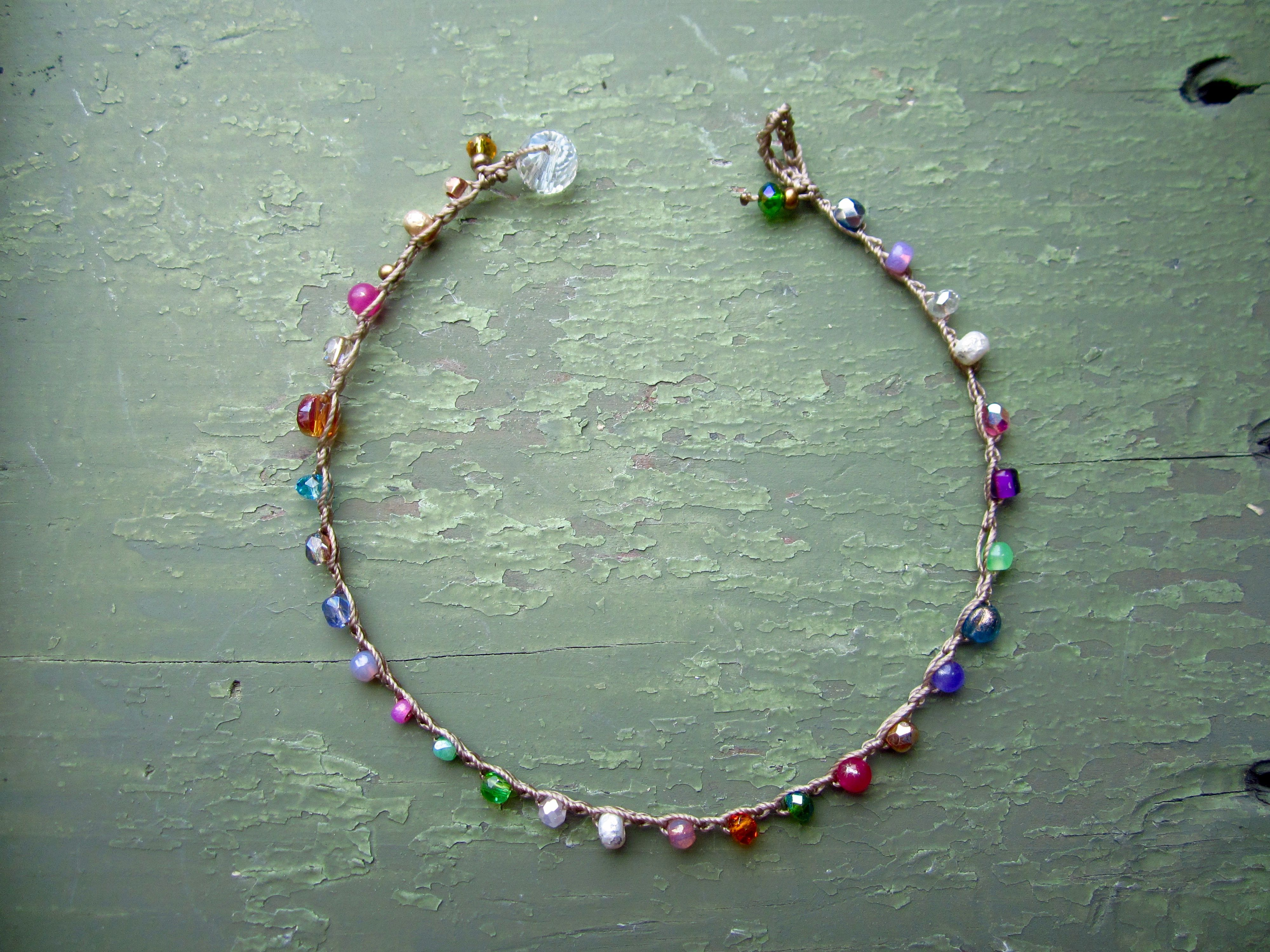Sand and sea shells anklet by sydneyjo share you best