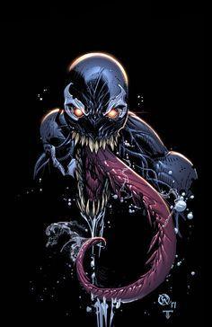 Marvel Venom Concept Art
