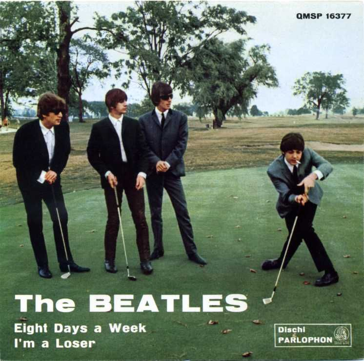 "The Beatles""Eight Days A Week"" / ""I'm A Loser"" 12"" Italian singleParlophone, 1965"