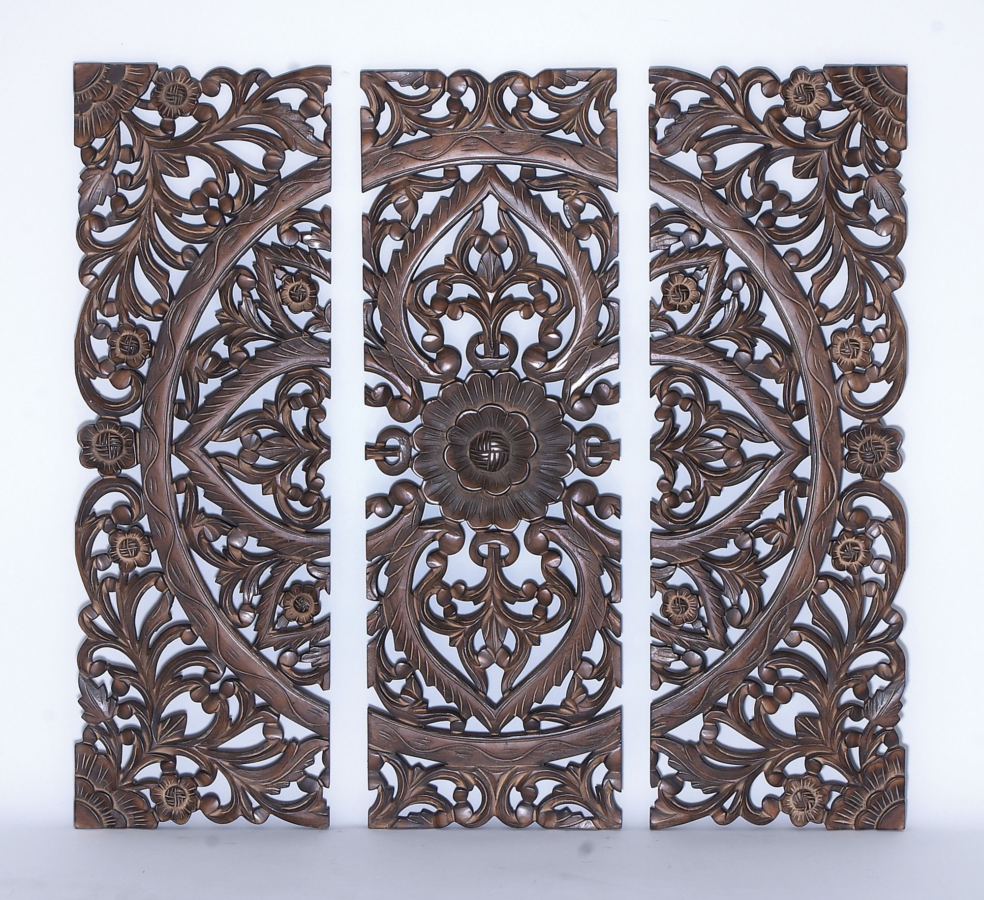 Woodland Imports 3 Piece Panel Wall Decor Set Deco Porte Deco Idees Pour La Maison
