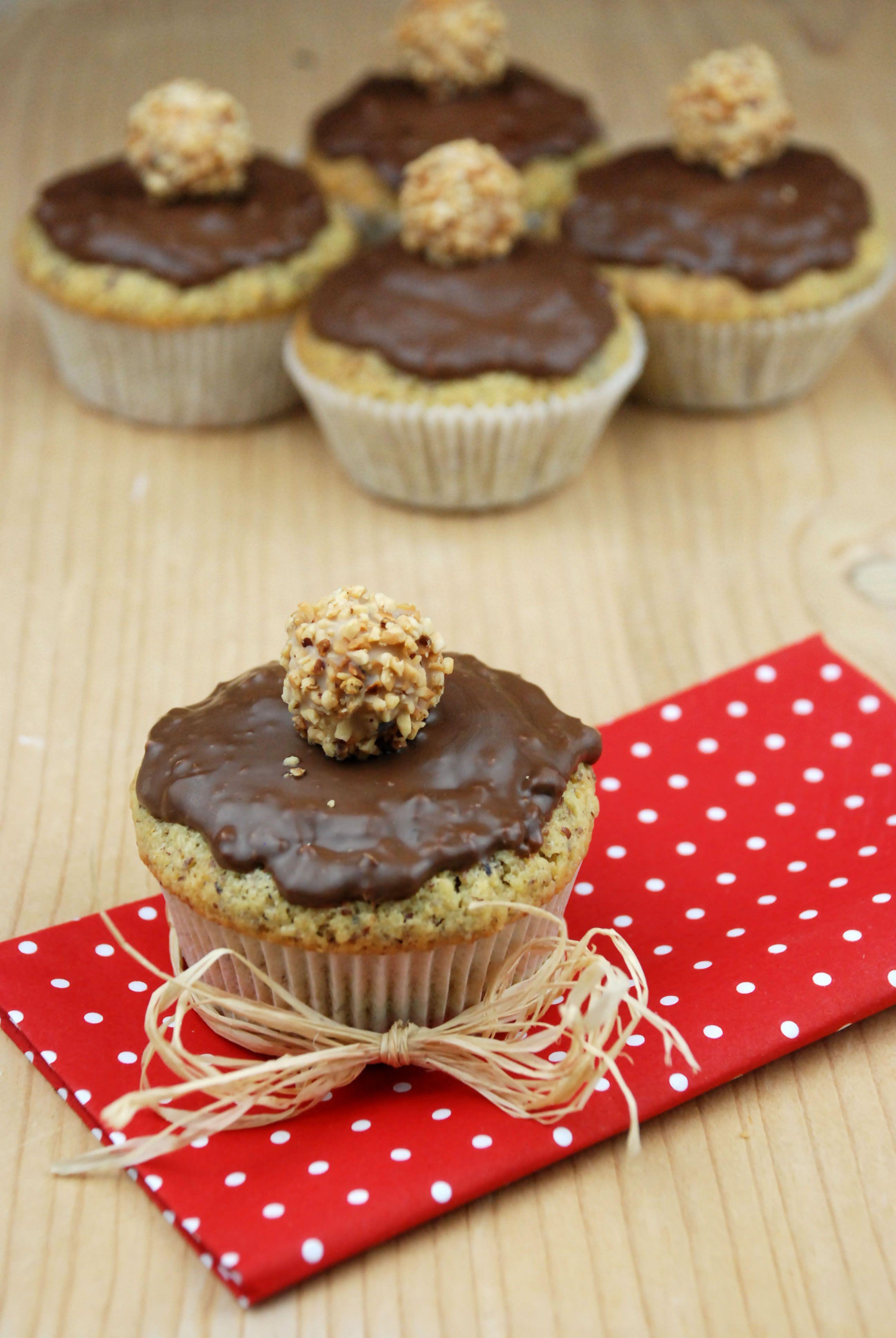 Giotto Muffins - einfach nur lecker #cupcakesrezepte