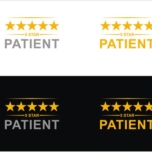 5 Star Patient Logo Design Contest Design Logo Contest Mwirig Logo Design Logo Design Contest Logos