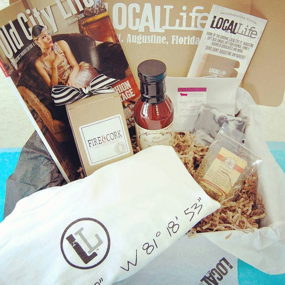 #shopping @locallifestaug  We have new Local Life Gift Boxes added to our website! http://www.livealocallife.com  Local Guy Local Gal and the March Edition!  #locallifestaug #locabuyjax #staugustine #staugustinefl #floridalife #giftbox #livealocallife #foxtrotcreative #giftideas #subscriptionbox #supportlocal #stjohnscounty #staugustinebuzz #staugsocial #tshirts #spices #bbq #soycandles #candles #datilpepper #localgoods #smallbusiness #giftideasforher #giftideas  @osagourmet @oclmag…