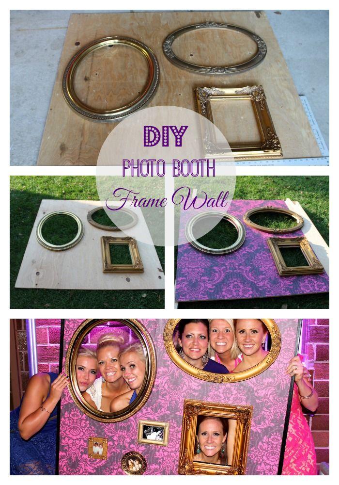 diy photo booth frame wall - Diy Photo Booth Frame