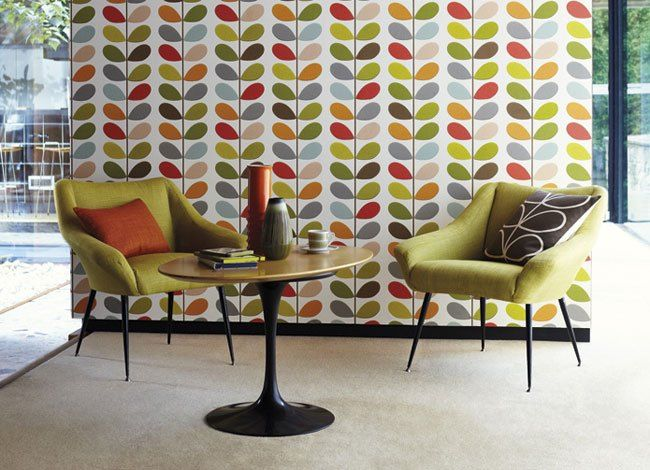 Orla Kiely range available from Homestyle Blinds and Interiors, Ballymena.