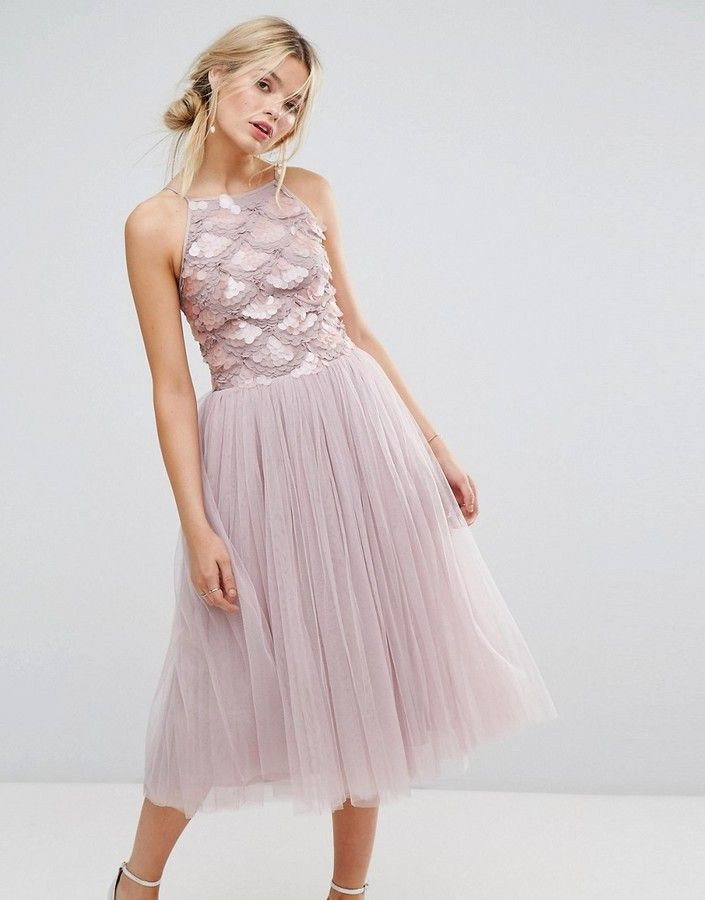 7bf14fedbf Little Mistress Tulle Dress With Sequin Upper | Products | Dresses ...