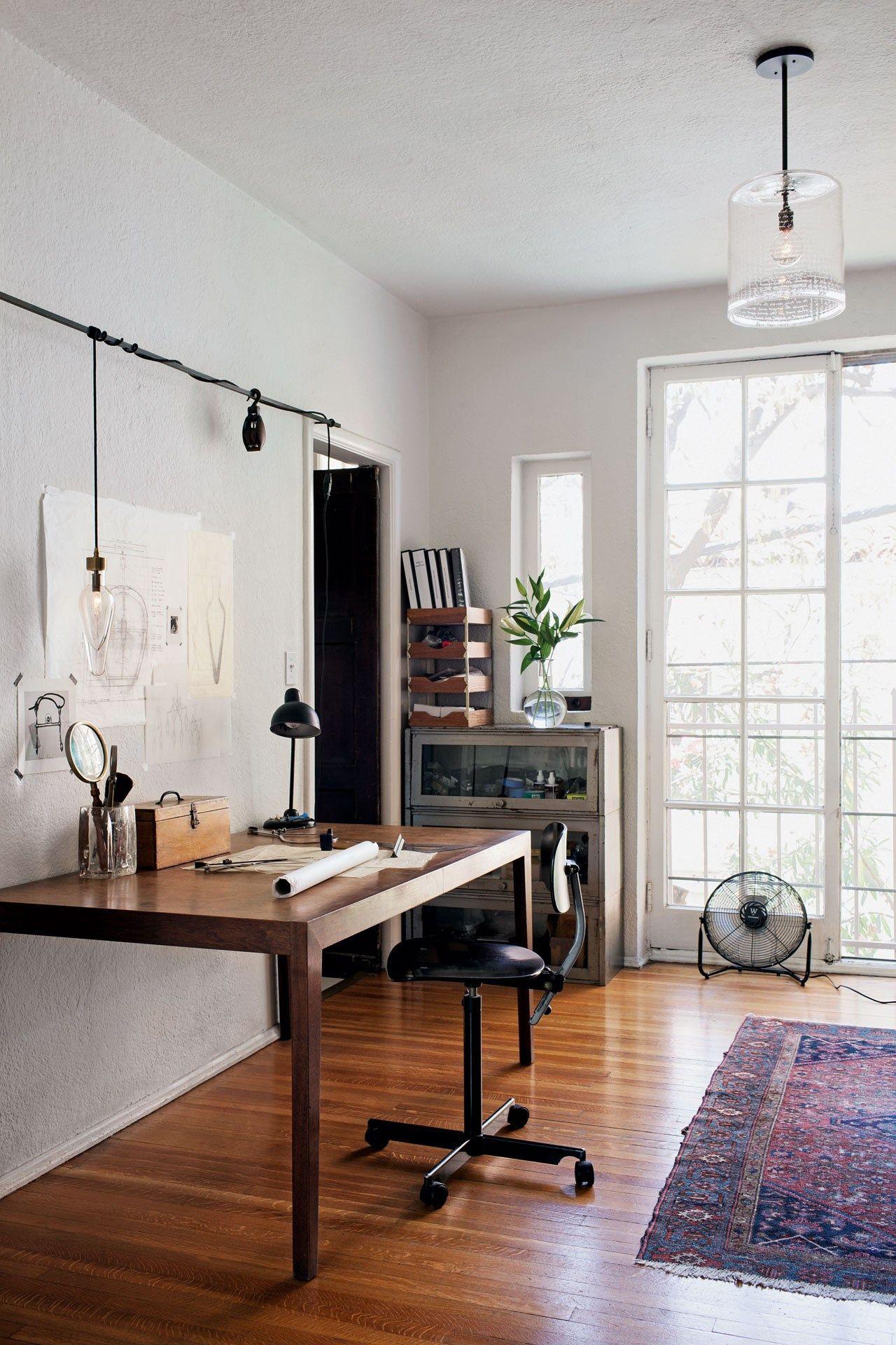 artist office. Glass Artist Alison Berger Studio LA | Design News Blowing (houseandgarden.co Office R