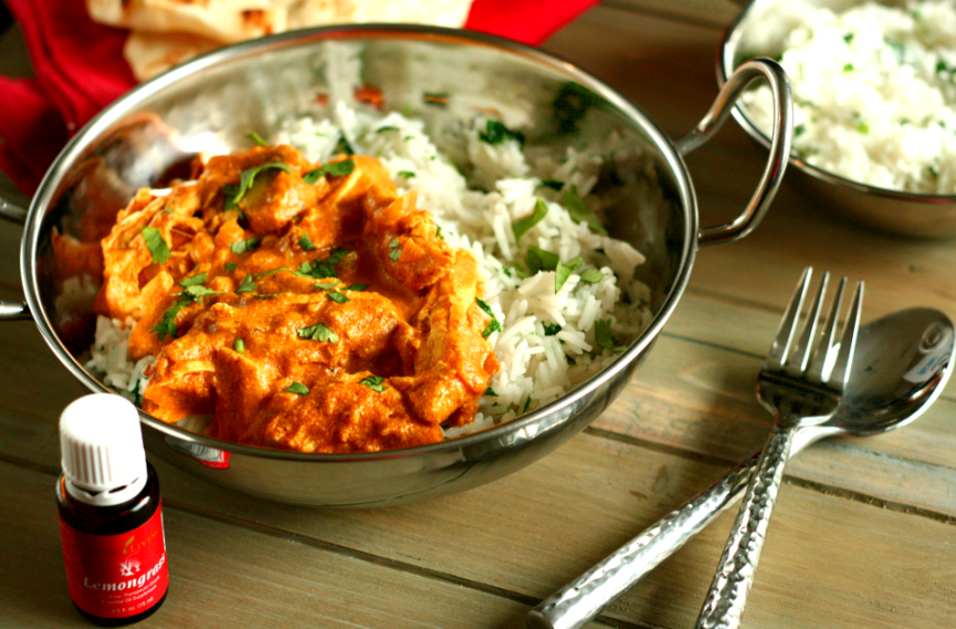Chicken Tikka Masala With Lemongrass Rice Chicken Tikka Masala