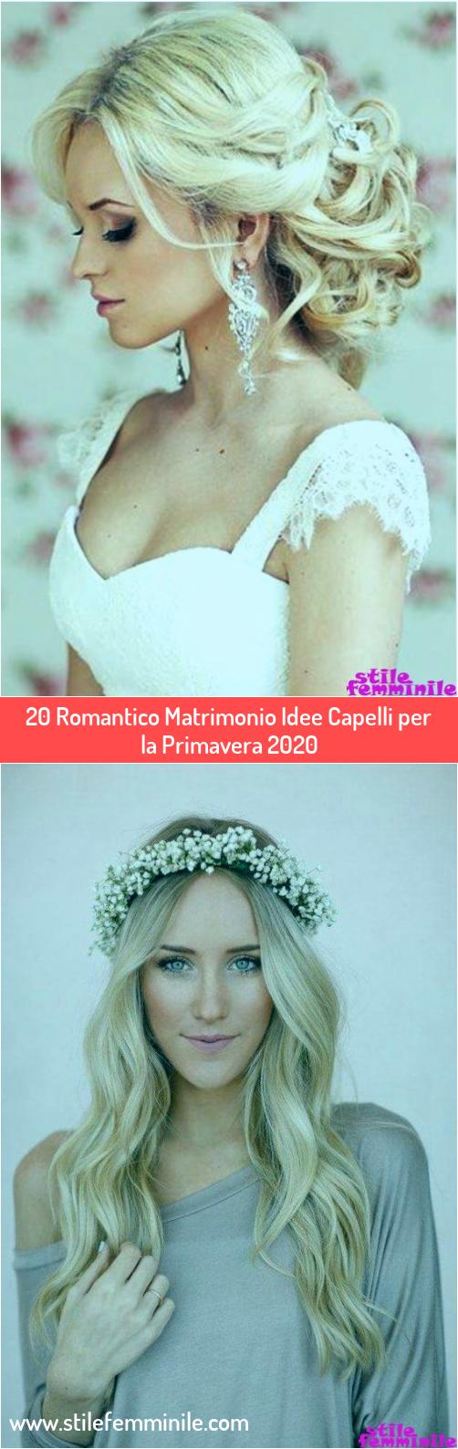 Photo of 20 Romantico Matrimonio Idea Capelli per la Primavera 2020