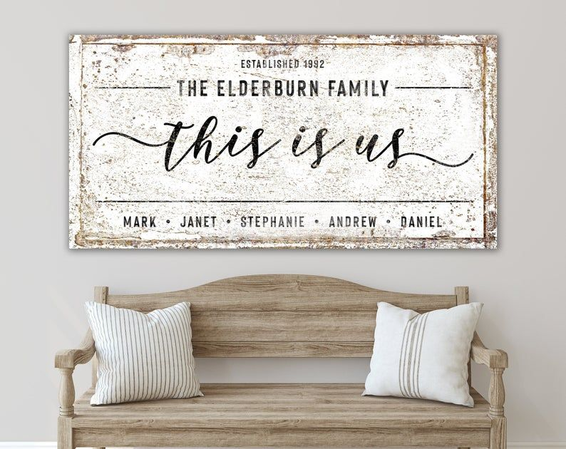 Inspirational Large Wall Art Farmhouse Sign When Given the choice to be right or kind choose kind Canvas Print Living Room Farmhouse Decor