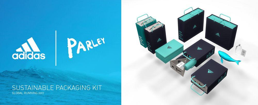 Adidas X Parley // sustainable tote kit | #MatchboxPKG