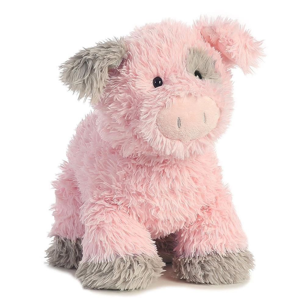 14 Aurora Plush Pink Pig Wiggles Farm Piggy Flumps Stuffed Animal
