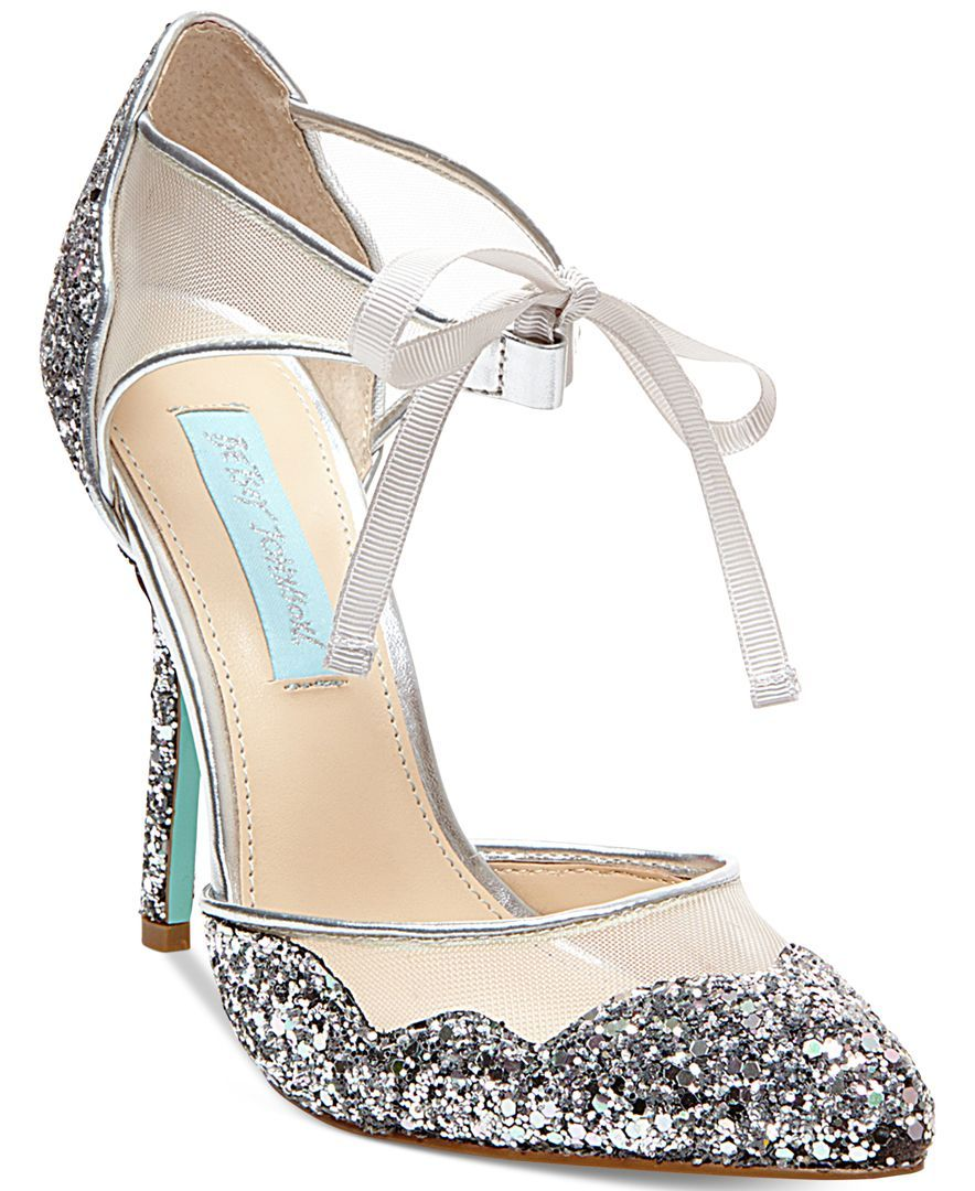 Shop for Sandals online at Macys.com. The Stela evening sandals by Blue by Betsey Johnson update your look with sparkling style and an ultra-feminine ribbon tie at the ankle.