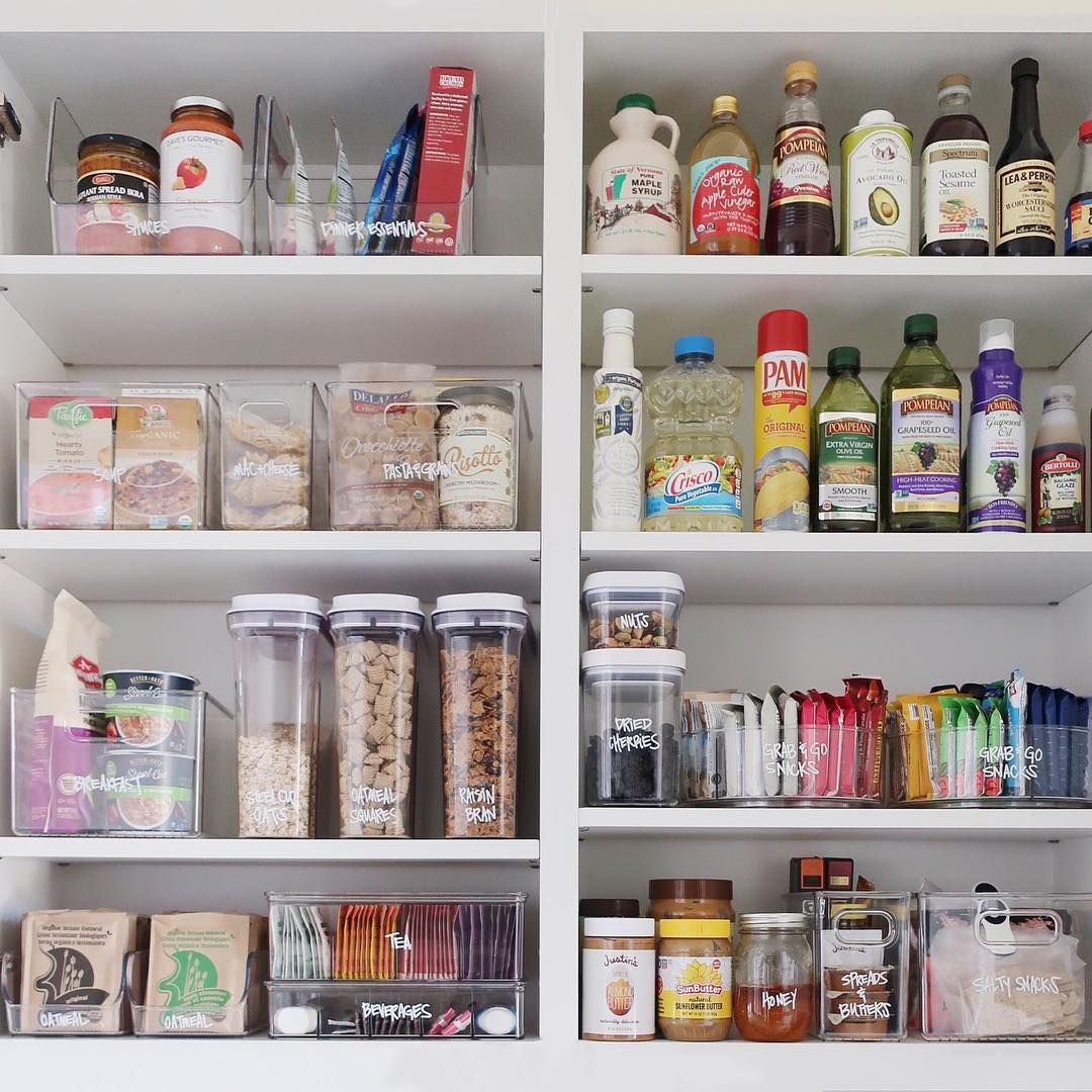 How To Organize A Small Apartment Pantry