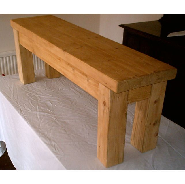 pine kitchen bench microwave cabinet heavy and solid rustic benches wood hand made stained in light oak