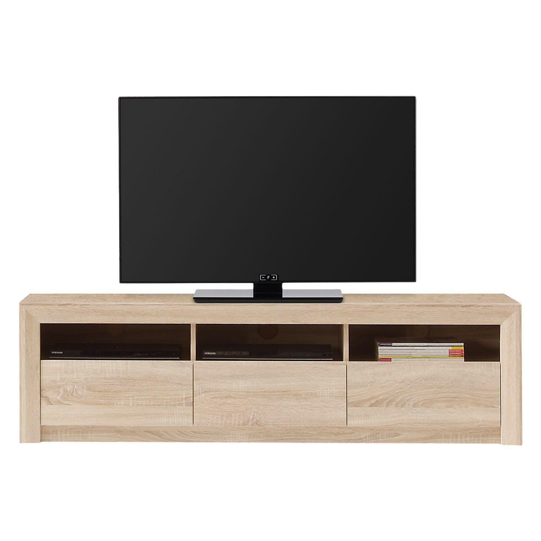 home24 TV-Lowboard Santandria in 2019 | TV Möbel | Lowboard ...