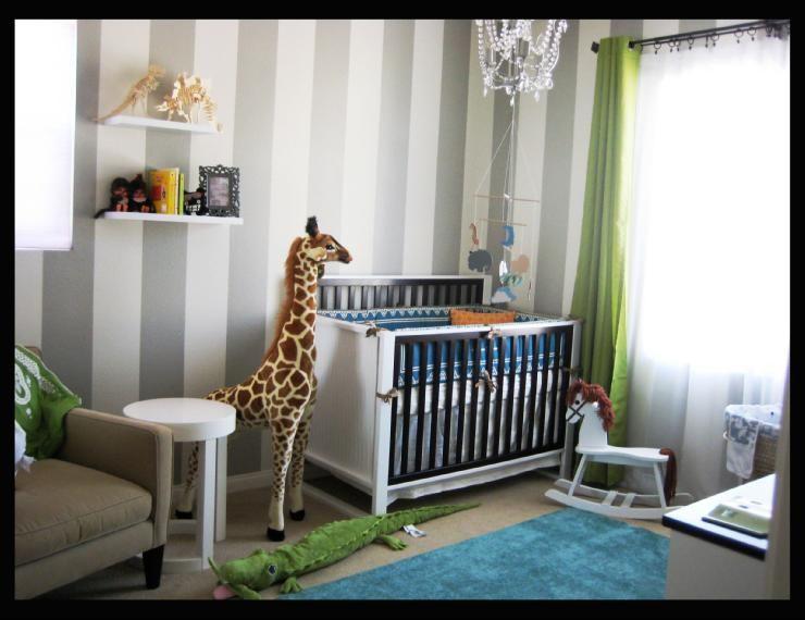Vertical Striped Walls Camerette Bambini Colori