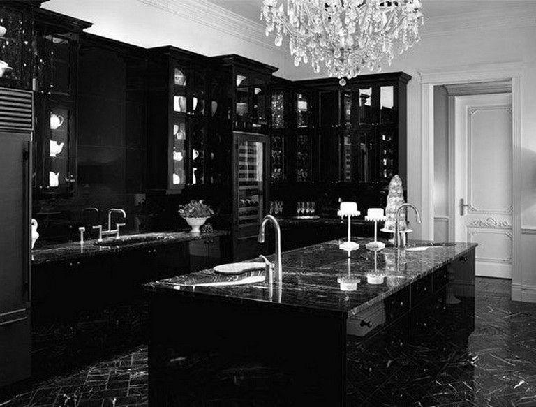 25 Amazing Gothic Black Kitchen Interior Design Ideas Kitchens Kitchendesign Kitchenideas Gothic Kitchen Gothic Interior Gothic Home Decor