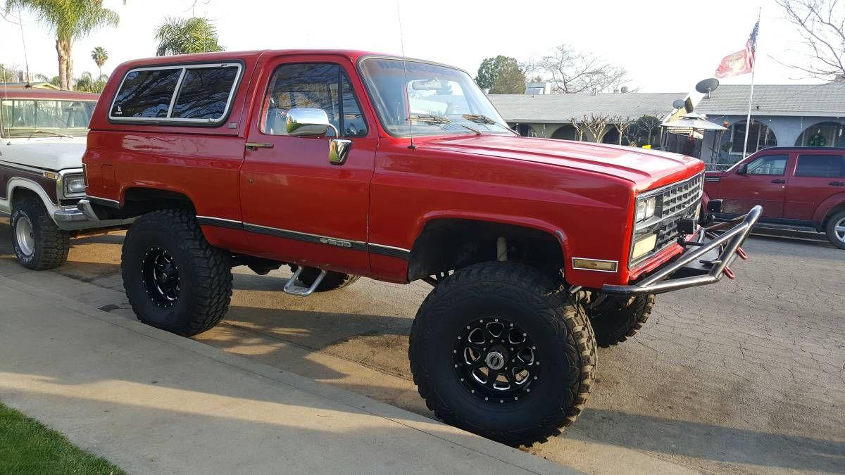 1989 Chevy K5 Blazer Chevrolet Blazer Chevy Blazer K5 Gm Trucks
