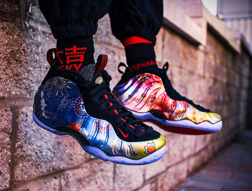 """17696507a96dc How the Nike Air Foamposite One """"Chinese New Year"""" Looks On-Feet ..."""